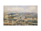 Panorama of Vienna Giclee Print by Alt Rudolph