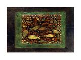 Aquarium Poster von Paul Klee