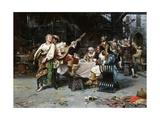 Cavaliers Merrymaking Giclee Print by Raffaele Armenise
