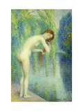 Bather Washing her Hair Posters by Petitjean Hippolyte