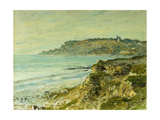 The Cliffs at Saint Adresse Prints by Claude		 Monet