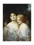 The Sisters Giclee Print by Edouard		 Veith