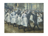 The Ball Giclee Print by Jean		 Mayne
