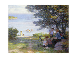 By the Water Lámina giclée por Edward Henry		 Potthast