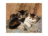 Best of Friends Giclee Print by Henriette		 Ronner-Knip