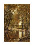 Spring on the River Giclee Print by Thomas Worthington Whittredge