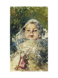 The Looking Glass Giclee Print by Henri Gervex