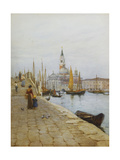 San Giorgio Maggiore from the Zattere, Venice Posters by Helen		 Allingham