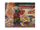 Still Life with Vase of Flowers Giclee Print by Robert Delaunay