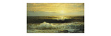An Orange Sunset Waning Low Premium Giclee Print by William Trost		 Richards