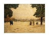 Jardin des Plantes, Paris Reproduction procédé giclée par Fernand Auguste Besnier