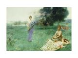 `Fleur De Luce' Giclee Print by Henry Siddons Mowbray