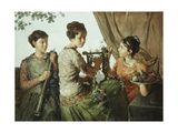 The Music Party Giclee Print by Joseph Wood		 Colby
