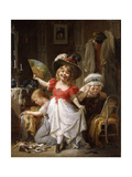 Dressing Up Giclee Print by Francois Louis Lanfant de Metz