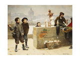 The Young Vendors Lámina giclée por Paul Charles		 Chocarne-Moreau
