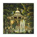 Gazebo in Central Park Giclee Print by Edward Middleton		 Manigault