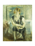 La Blonde Giclee Print by Jules Pascin