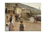 Mousehole Giclee Print by Harold		 Harvey