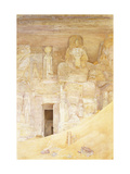 Abu Simbel Giclee Print by Henry Roderick		 Newman