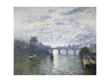 The Paris Royale on the Seine Prints by Frank Myers		 Boggs