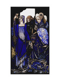 Seven dog-days we let pass, naming Queens in Glenmacnass' Prints by Harry		 Clarke