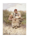 Mother and Child Print by Robert McGregor