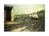 Entering the Station Giclee Print by Hermann		 Pleuer