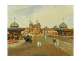 The British Empire Exhibition, Wembley Prints by Jacques Emile		 Blanche