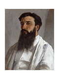 Portrait de Jules Bordet Giclee Print by Gustave		 Courbet