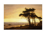 California Coast Posters by Albert Bierstadt
