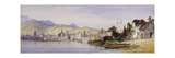 Lucerne from the Lake Premium Giclee Print by William		 Callow