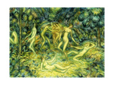 Nymphs Dancing Giclee Print by Edward Middleton		 Manigault