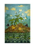 Sunflowers and Poppies Giclée-Druck von Paul Ranson