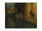 The Gate Giclee Print by Henri		 Le Sidaner