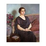 Portrait de Madame Dubois Prints by Theo Rysselberghe