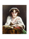 The Love Letters Giclee Print by Piot Etienne Adolphe