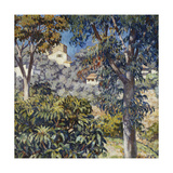Paysage du Midi Giclee Print by Theo Rysselberghe