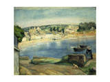 Breton Landscape at Miget Impression giclée par Henri Lebasque