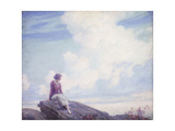 The Pink Cloud Giclee Print by Charles Courtney Curran