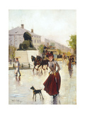 Paris Street Scene Prints by Francis		 Garat