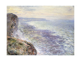 The Sea near Fecamp Posters by Claude Monet