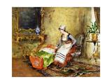 Lullaby Giclee Print by Juan Antonio Gonzalez