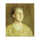 Portrait of the Artist's Wife Giclee Print by Soren Emil		 Carlsen