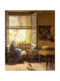 A Quiet Afternoon Prints by Marie Francois		 Firmin-Girard
