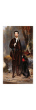 A Huntsman with a Dog Premium Giclee Print by Charles Edouard		 Boutibonne