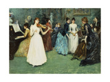 The Musical Party Giclee Print by Fausto		 Zonaro