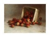Box of Strawberries Giclee Print by Joseph		 Decker