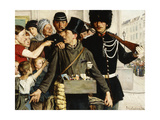 The Arrest Giclee Print by Jules		 Lambeaux