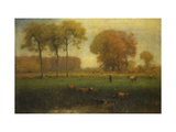 Indian Summer Giclee Print by Inness, Jr. George