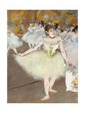 Sur La Scene Prints by Edgar		 Degas